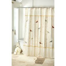 mountain top furniture avanti gilded birds shower curtain