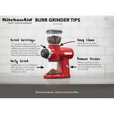 Superstore Coffee Grinder Kitchenaid Kcg0702 Burr Grinder Red For Nz 383 45 Kitchenware