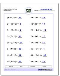 order of operations free worksheet youtube with fractions maxresde