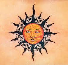 43 sun tattoos designs