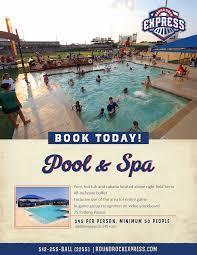 pool u0026 spa round rock express group outings