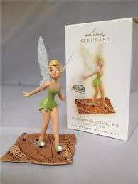 details about tinker bell w bell ornament disney store