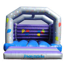 15 x 16ft celebration balloon party castle jv bouncy castle hire