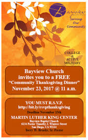 free community thanksgiving dinner morse