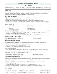 Canadian Style Resume Template Sample Resume Canada Format U2013 Topshoppingnetwork Com