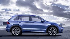 Volkswagen Gte Price New Vw Tiguan Crossover Bows In With Solar Panelled Gte Hybrid