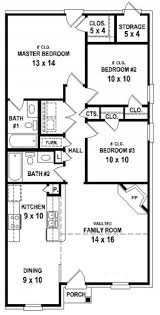 gorgeous 2 bath 3 bedroom house plans planskill small 3 bedroom 2