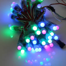 miyole dc5v 12mm ws2811 led string rgb with controller led pixel
