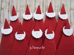 weihnachtsservietten falten servietten falten der stiefel tischdeko zu nikolaus
