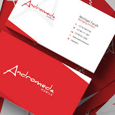 Red Business Cards Business Card Design Professional Business Card Designers