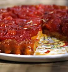 t駘駑atin recettes de cuisine tarte tatin à la tomate les meilleures recettes de cuisine d