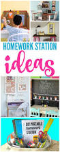 homework station ideas love these back to ideas to