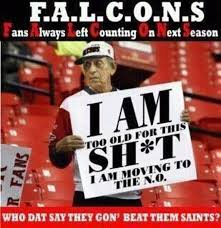 Saints Falcons Memes - 19 anti atlanta falcons memes for all the dirty bird haters