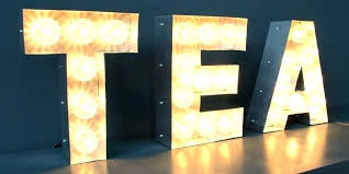 large light up letters lighted letters large halo lighted channel sign letters lighted