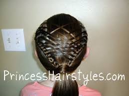French Braid Hairstyles With Weave Woven French Braid Ponytail Hairstyles For Girls Princess
