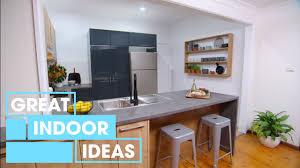 Indoor Kitchen Budget Kitchen Makeover Indoor Great Home Ideas Youtube