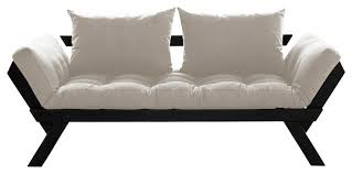bebop convertible futon sofa bed contemporary futons by muntech