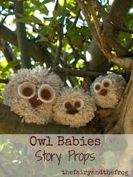 the fairy and the frog how to make an owl babies story sack