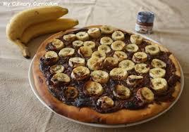jeux de cuisine de pizza au chocolat recette de tarte pizza bananes nutella la recette facile