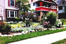Landscaping Front Of House by Ideas Exciting Landscaping Ideas For Front Of House With Green