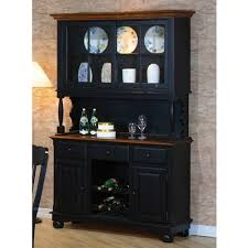 classic country look buffet u0026 hutch by coaster 100594