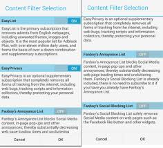 filters for android android browser with ad block site filter material design