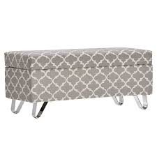house of hampton chesham wood storage ottoman u0026 reviews wayfair
