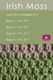 irish thanksgiving prayer how to knit the irish moss knit stitch pattern studio knit