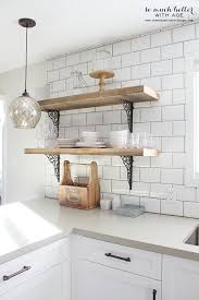 kitchen shelving rustic industrial kitchen shelves so much better with age