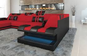 Black Fabric Sofa Sofa Wonderful U Shaped Fabric Sofa 160927 Apolloniau Black