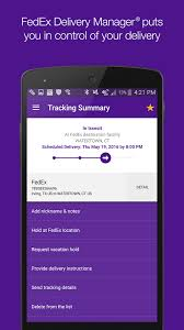 fedex android apps on google play