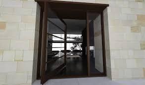 entrance glass door the segmented modern pivot door design with glass segments doors