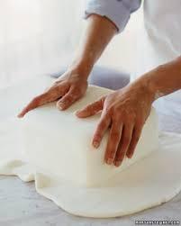 wedding cake 101 how to make a fondant cake martha stewart weddings