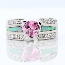 aliexpress buy anniversary 18k white gold filled 4 25 best rings with pink stones images on alibaba