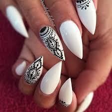 Nail Art Design Black 25 Best Black White Nails Ideas On Pinterest Shellac Nail Art