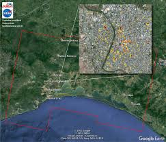 chiapas mexico map space images satellite radar detects damage from sept 2017