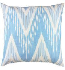 pale blue ikat throw pillow so pretty 20 thirteen pinterest