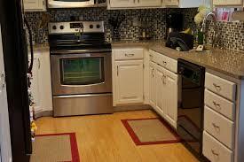 Black Kitchen Rugs Modern Kitchen Mat Interior Design