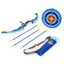 Inflatable Pool Target Stats Light Up Archery Set With Target Toys