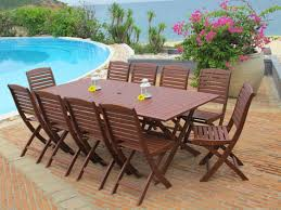 Wooden Patio Table And Chairs Wood Outdoor Furniture Dining Table Set Meeting Rooms