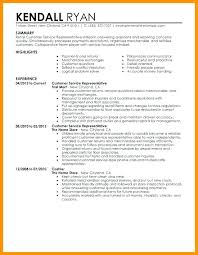 resume for customer service customers service representative resume bank customer service