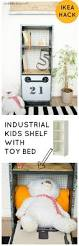 ikea hack industrial kids shelf with toy bed u2022 grillo designs