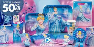 Birthday Decorations For Girls Cinderella Party Supplies U0026 Birthday Decorations Party City