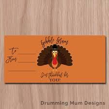 gobble gram teacher appreciation gift thanksgiving gratitude