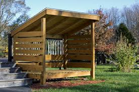 Plans To Build A Wood Shed by Firewood Storage Sheds To Store Wood For Winter From East Coast