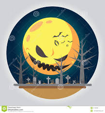 halloween illustration graveyard stock image image 33216561