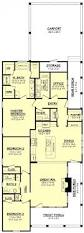 one story luxury floor plans open cottage hahnow