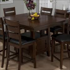kitchen counter height table and chairs bar height dining table