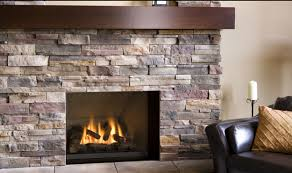 fresh stacked stone fireplace with built ins 2140