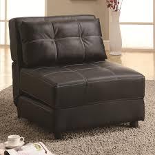 contemporary armless lounge chair sofa bed big city futon